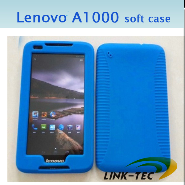 Hot sale 7 inch Lenovo A1000 soft skin case tablet case Silicone Cover Case