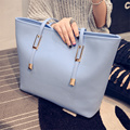 Women's Bag 2016 Women's Simple Purse and Handbag Shopping Bag Large Shoulder Bag Casual Handbag bolsos mujer Leather Bags women