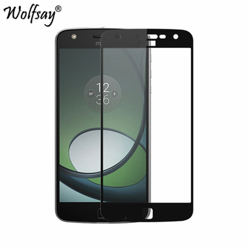 For Glass Motorola Moto Z Play <font><b>Screen</b></font> Protector Tempered Glass for Motorola Moto Z Play <font><b>XT1635</b></font> Full Cover Curved Edge Phone Film image