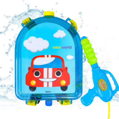 Summer Funny Water Gun Boy Girl Pressure Backpack Water Guns Kids Playing Water Outdoor Beach Toys Gift For Children