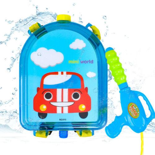 Summer Funny Water Gun Boy Girl Pressure Backpack Water Guns Kids Playing Water Outdoor Beach Toys Gift For Children
