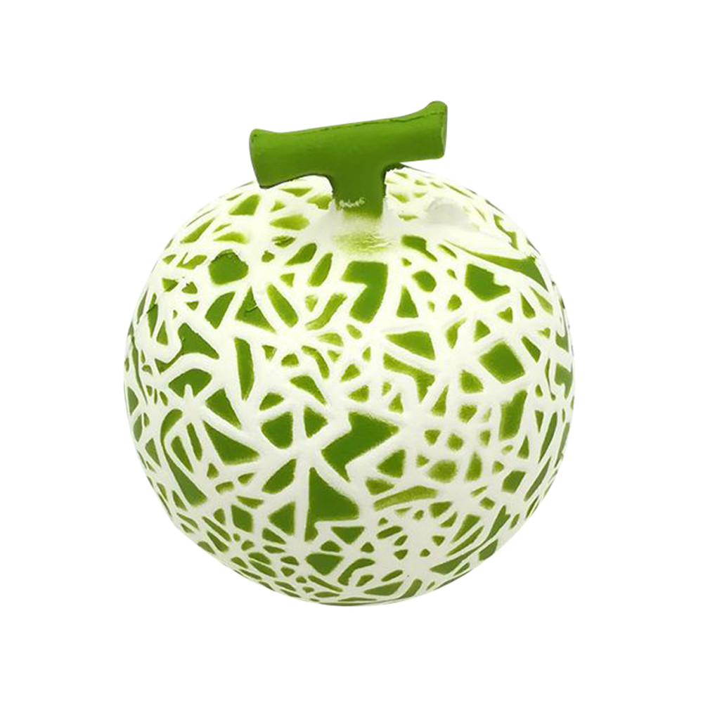 Kawaii Hami Melon Squishy Slow Rising Jumbo  Fruit Pendant Phone Straps Scented Pendant Bread Cake Fun Kid Squeeze Toy Xmas Gift