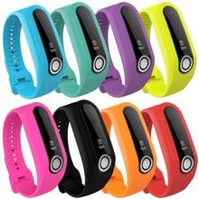 XBERSTAR TomTom Toque substituição bandas de Fitness Rastreador esportes Silicone Pulseira pulseira pulseira Banda Cinta macia 8-color