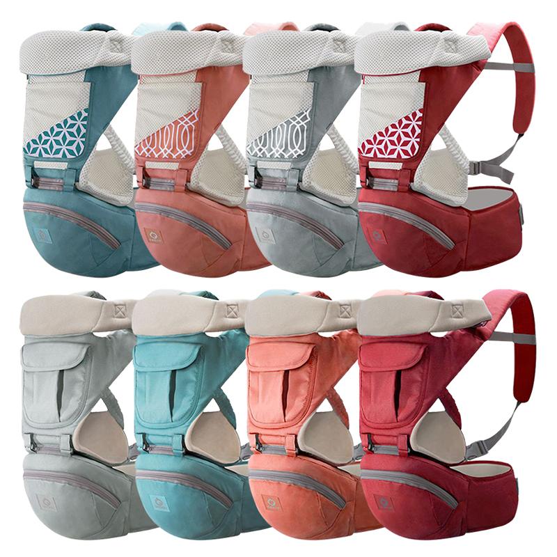 Breathable Ergonomic Infant Baby Carrier Backpack Portable Infant Baby Carriers Hip Seat Heaps Baby Sling Carrier Wrap 2019 New