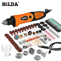 HILDA Electric Drill Mini Engraver Rotary Tool 450W Mini Drill 6 Position For Dremel Rotary Tools Mini Grinding Machine