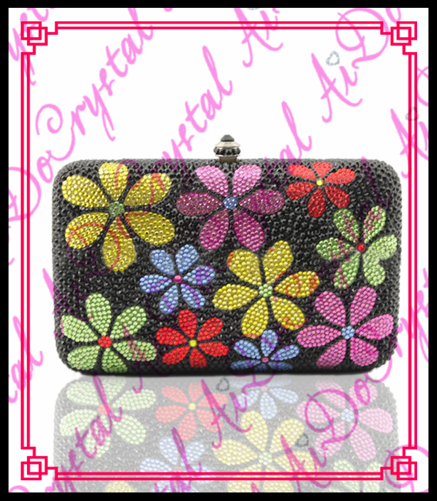 Aidocrystal funky evening font b clutch b font bag new style fashion ladies handbags 100 handmade