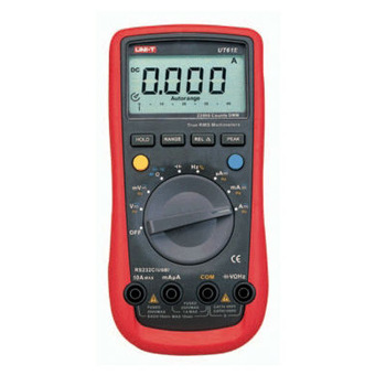 UNI-T UT61E Digital Multimeter auto range true RMS Peak value RS232 REL AC / DC amperemete multimeter мультиметр uni t uni t ut61d true rms rs232 rel uni t 61d