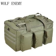 Penyamaran Pelbagai fungsi Bag Bag Besar Kapasiti Beg Backpack Lelaki Ketenteraan 55L Ransel Perjalanan Beg Luar