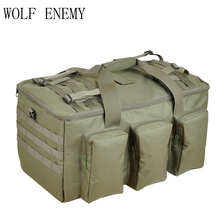 Camouflage Multifunctionele Bagage Tas Grote Capaciteit Tas Heren Militaire Rugzak 55L Reis Rugzakken Buiten Tassen