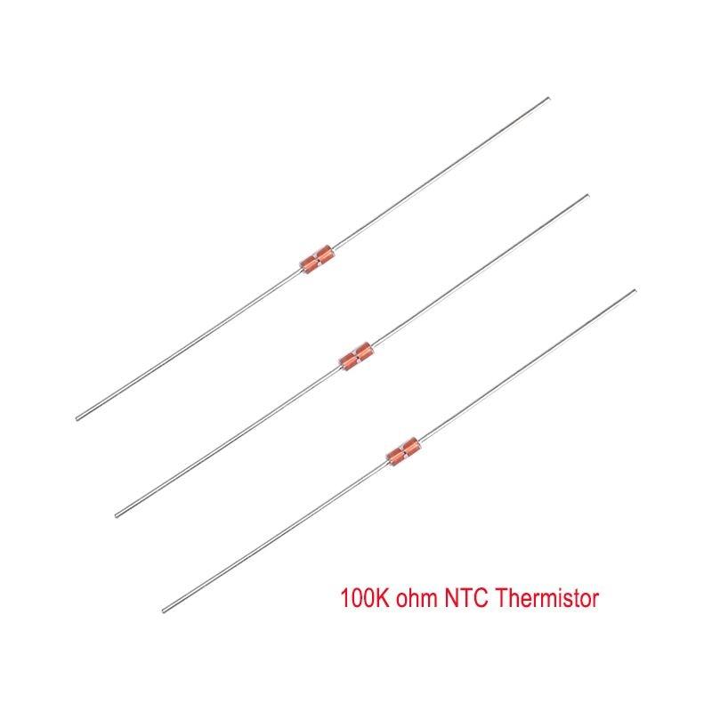 High Quality 10 PCS Thermistor NTC 100 K ohm Temperature Sensor For 3D Printer Reprap high accuracy ntc thermistor temperature sensor module for arduino