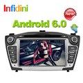 Для Hyundai iX35 Tucson 2009 2010 2011 2012 2013 2014 2015 Чистая Android 4.4 quad core 2 дин dvd gps радио стерео 2 din dvd