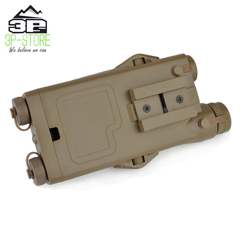 Image 5 - WADSN Airsoft Tactical AN peq PEQ 2 Battery Case Red Laser For 20mm Rails No Function PEQ2 Box WEX426-in Weapon Lights from Sports & Entertainment