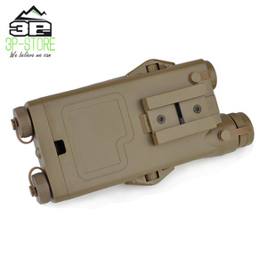 Image 5 - WADSN Airsoft Tactical AN peq PEQ 2 Battery Case Red Laser For 20mm Rails No Function PEQ2 Box WEX426
