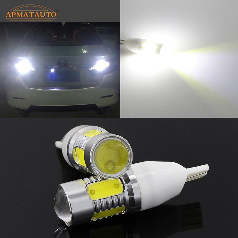 2 x T15 T16 W16W 912 912 Plasma LED Projector Blub Tail Backup Reverse Rear Lights For Scion FR-S Toyota 86 FT86