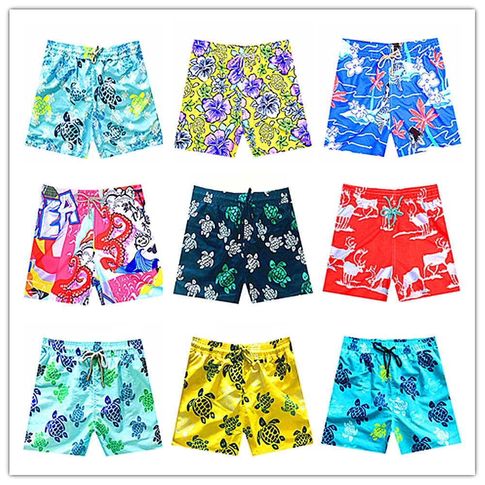 2019 Brand Vilebre Men Beach   Board     Shorts   Swimwear Men Quick Dry Bermuda Mens Bathing   Shorts   Sexy Mermaid Elk Swimshort M-XXXL