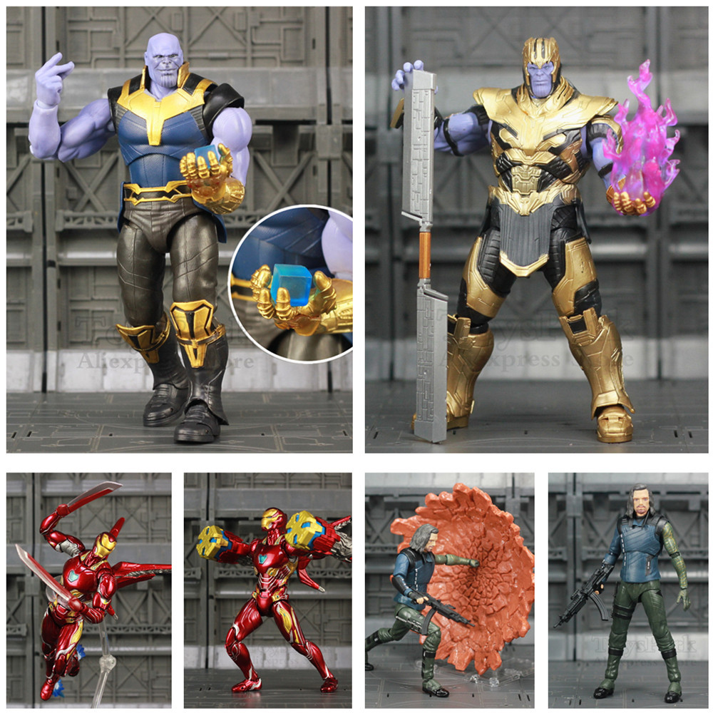 Marvel Endgame Thanos Iron Man MK50 MK85 Mark 85 6