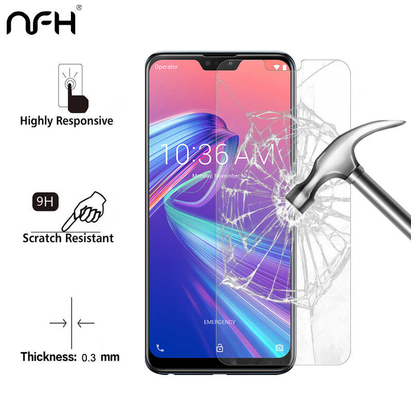 9H Protective Tempered Glass For Asus Zenfone Max Pro M2 ZB631KL ZB633KL ZB 631KL ZB 633KL Screen Protectors Film Glass