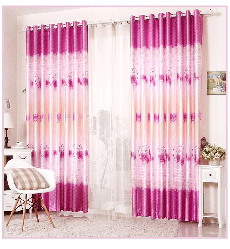 High quality blackout bedroom curtains/Living room decorated ...