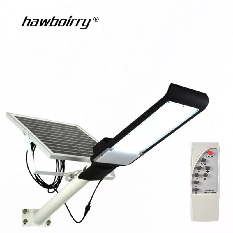 The New 30W50W100W outdoor solar lighting bright waterproof large charging battery board remote control street light