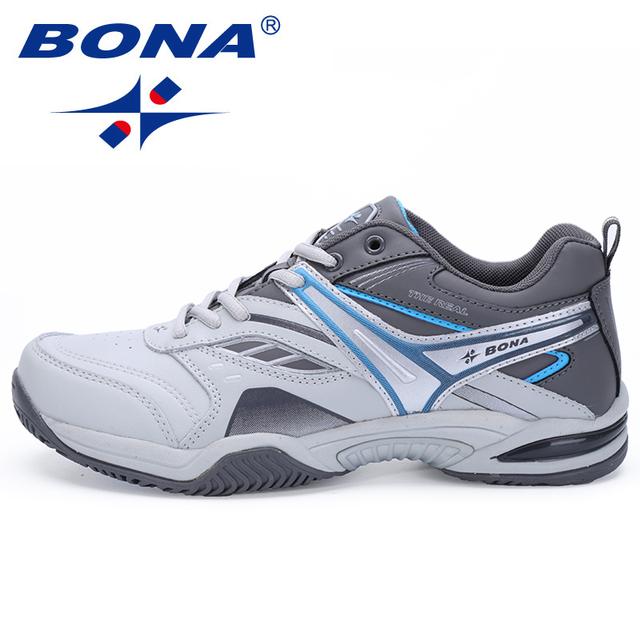 BONA nuevo estilo clásico zapatos de tenis para Hombre Zapatos deportivos de encaje de alta calidad cómodos Zapatos de deporte para hombre rápido envío gratis