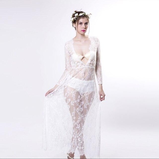 Maxi Lace Long Maternity Dresses Maternity 5