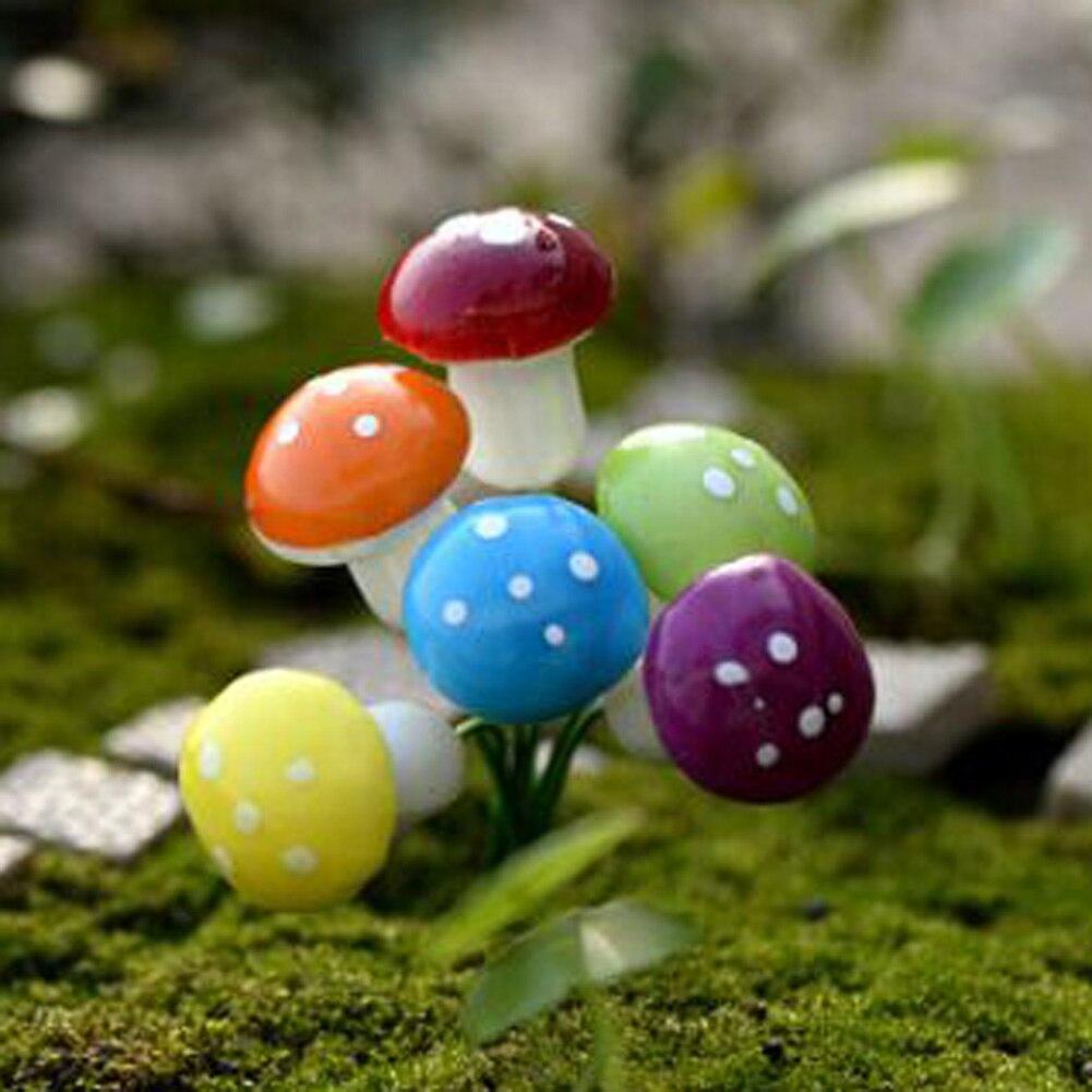 Magic Vogue 2018 Cute Gift 2018 Handmade Popular Mushroom Garden Ornament Selling Pretty Individual Simple Modern