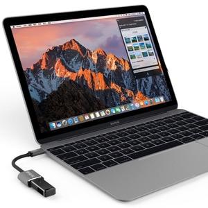 Image 2 - TUTUO USB C Male naar USB A 3.0 Vrouwelijke OTG Adapter Aluminium Type C Hub voor MacBook Pro/S8 /Xiaomi/Huawei Mate 10 (Grijs)