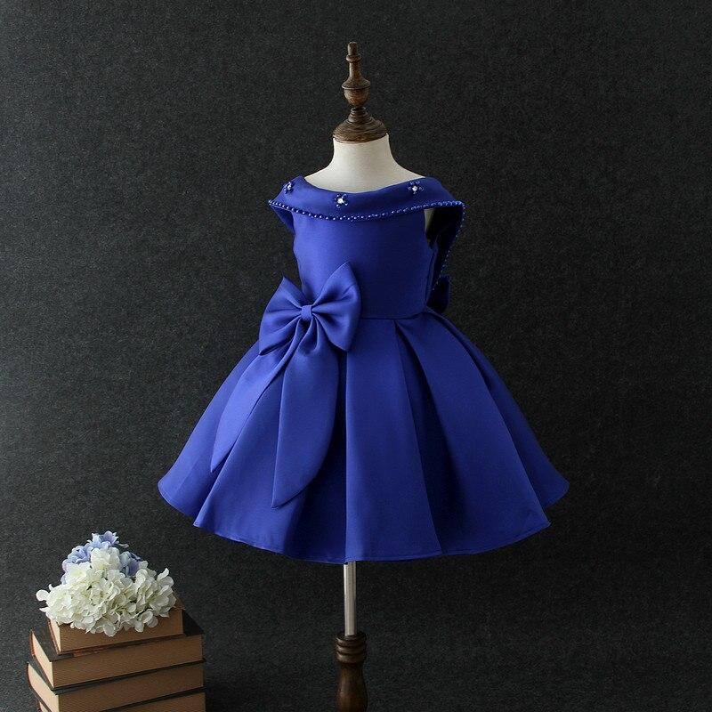 Прекрасный милый цветок створки платье для девочек Дешевые бальное платье пол Длина рюшами из органзы цветок платья для девочек милые девушки вечерние платья - 2