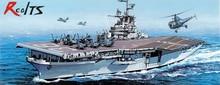 RealTS 1 700 USS ANTIETAM CV 36 Korean War Essex class angled deck Dragon 7064