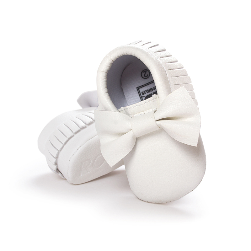 Mother & Kids ... Baby Shoes ... 32599111380 ... 4 ... Handmade Soft Bottom Fashion Tassels Baby Moccasin Newborn Babies Shoes 19-colors PU leather Prewalkers Boots ...