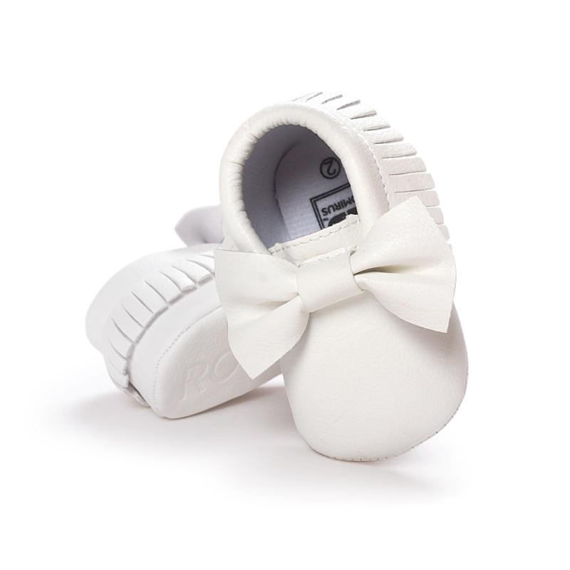Handmade Lembut Bawah Mode Jumbai Sepatu Bayi Moccasin Sepatu Bayi - Sepatu bayi - Foto 4