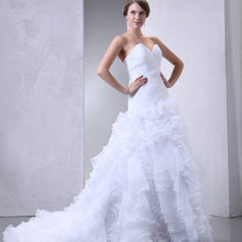 DENIA'S BRIDAL A-Line Wedding Dresses Floor-Length
