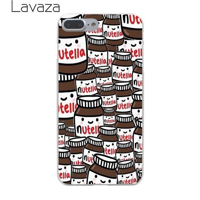 Online Shop Lavaza çikolata Gıda Tumblr Nutella Sert Telefon Kapak
