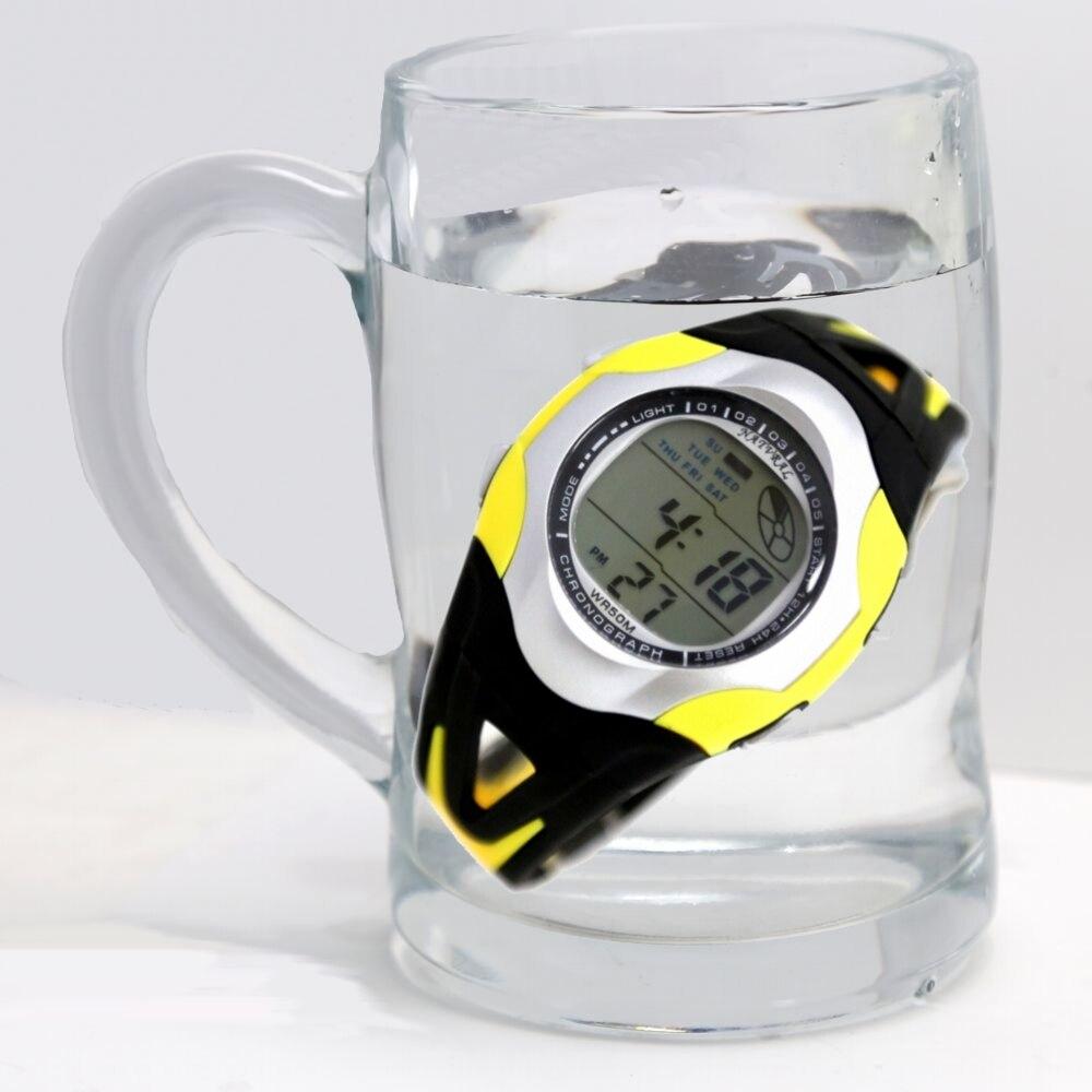 Wholesale 8PCS./Lots Cheap Price ,Good Watches 4 Color @ 2pcs Alarm,Water Resistant,Back Light Men Ladies Digital Watch DW313