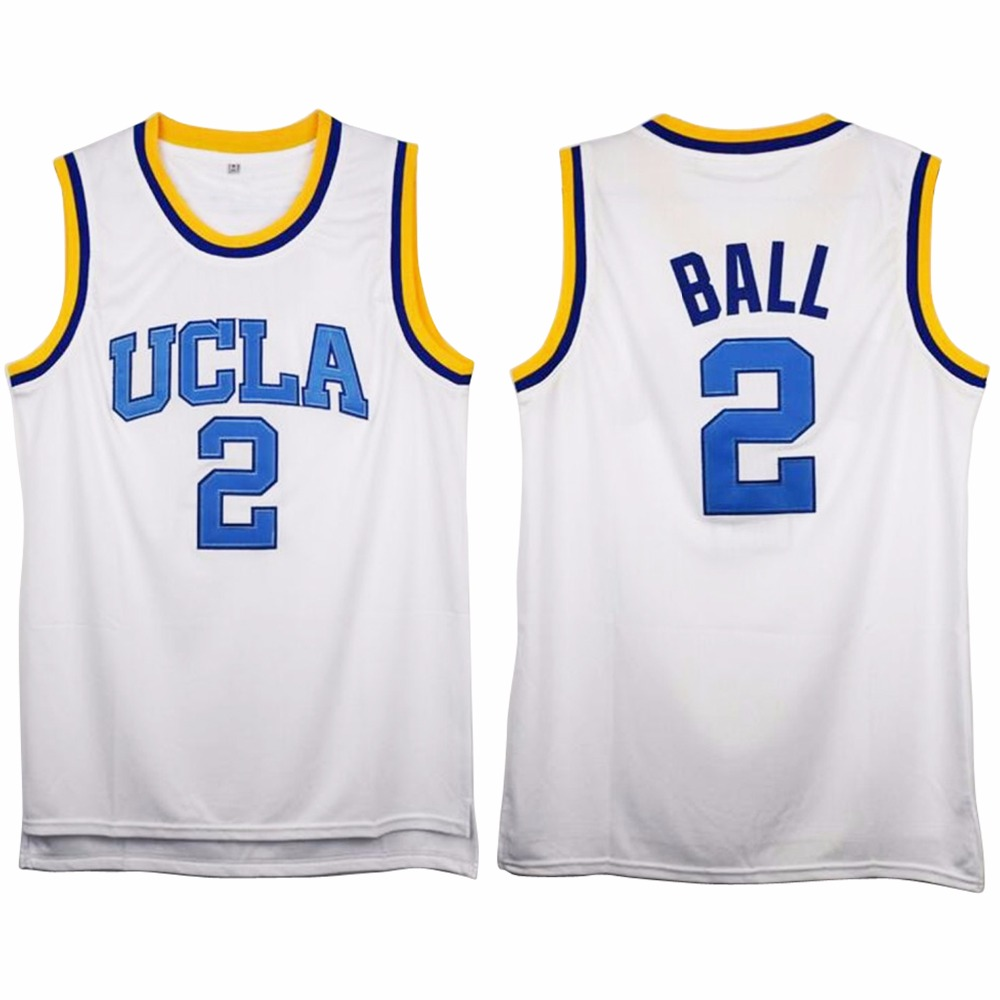 a0dc1911b ... White Aliexpress.com Buy VTURE Mens Russell Westbrook 0 2 UCLA Bruins  Blue Stitched Basketball Jersey ...