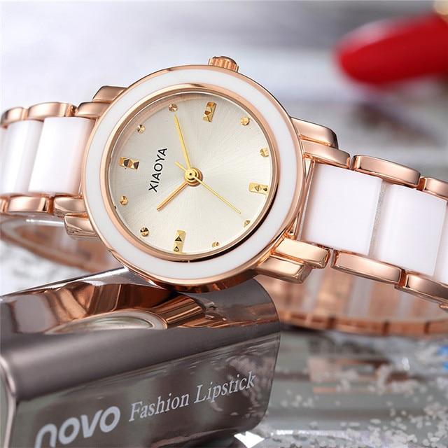 XIAOYA Fashion Ladies Water Resistant Bracelet Watch Business Quartz womans' Wat