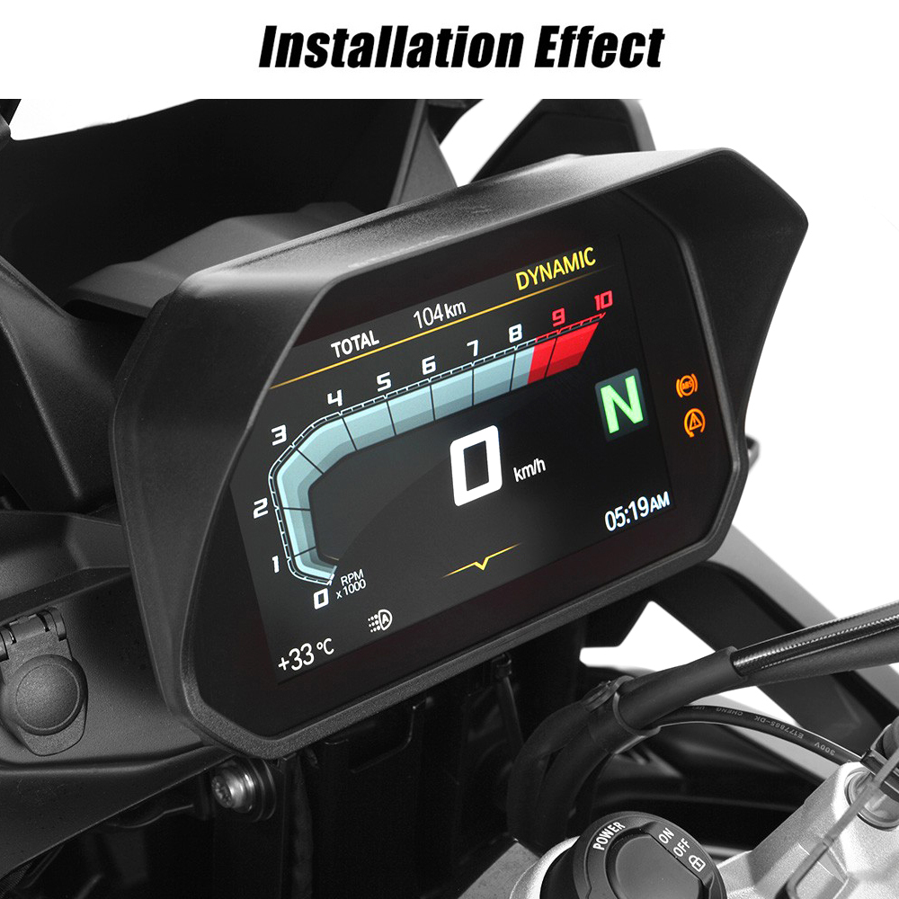 Image 5 - KEMiMOTO Speedometer Sun Visor for BMW R1200GS R 1200 GS Adv F850GS F750GS F850GS 2018 2019 R1250GS R1250R GS LC Adventure-in Covers & Ornamental Mouldings from Automobiles & Motorcycles