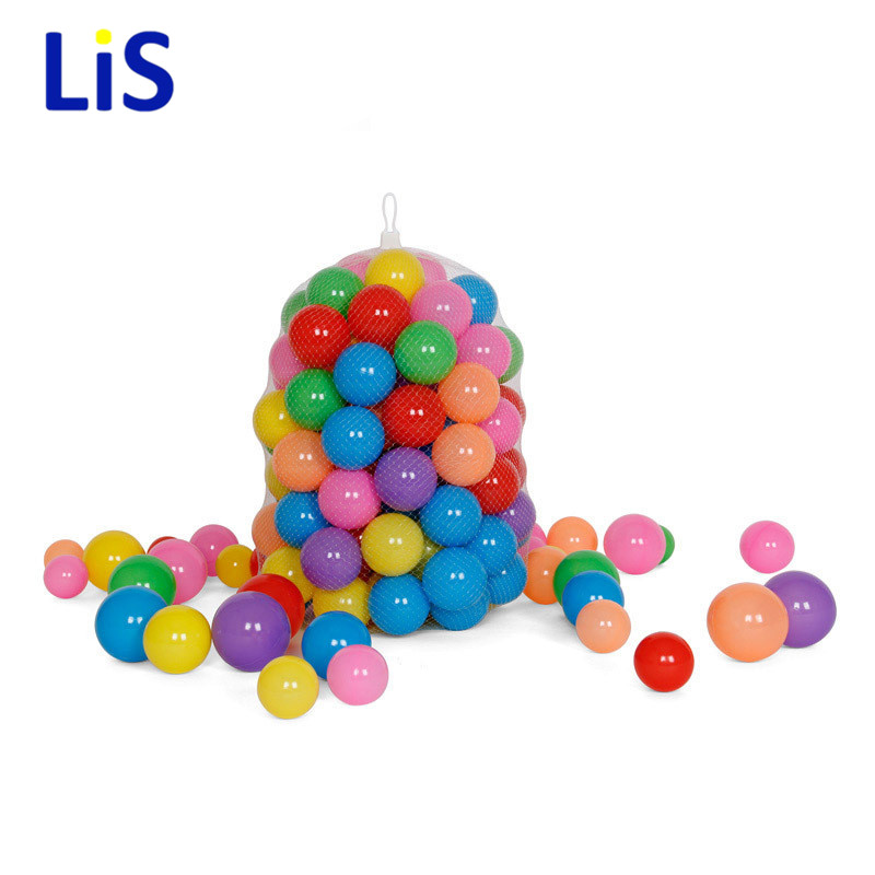 5.5CM Eco-Friendly Colorful Ball Soft Plastic Ocean Ball Funny Baby Kid Swim Pit Toy Water Pool Ocean Wave Ball