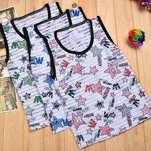 Bobo Choses Baby Icecreem T 4-10Y Shirt 2016 New Arrival Kids Boy Cotton Summer sleeveless tops tees Cute boys sleeveless shirts