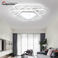 Dragonscence Modern LED Ceiling Lights For Dining Bed Room Bedroom Maximum Size Large High Power Ceiling
