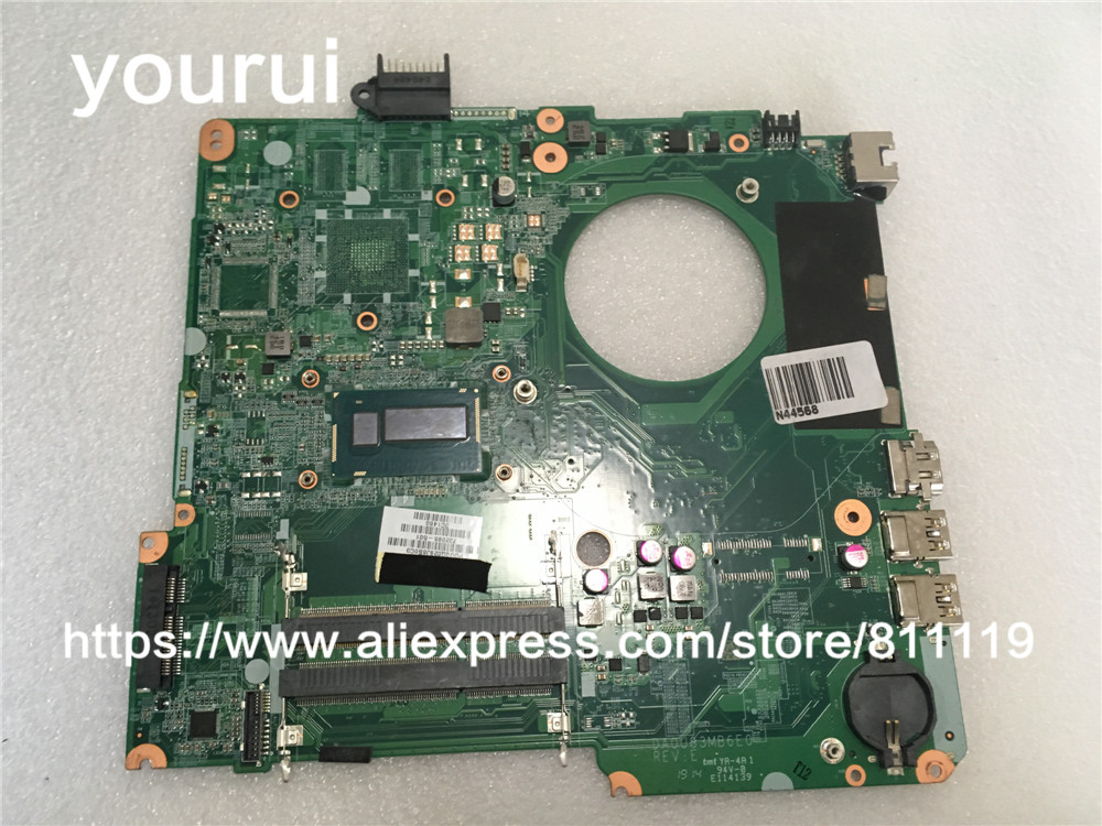 yourui 732086-001 732086-001 For Motherboard For HP Pavilion 15-N  HM76 DA0U83MB6E0 I5-4200U