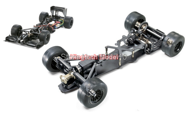US $367 3 |Tamiya's latest F104 X1 special limited edition black carbon  fiber RC racing car frame off road car chassis new arrival top sale-in  Parts &
