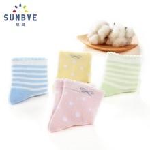 Child's Socks for Girls Cute Cartoon Kids Socks 6Pair/Lot Pink Princess Baby Soft SocksSpring/Summer Thin Fashion Socks
