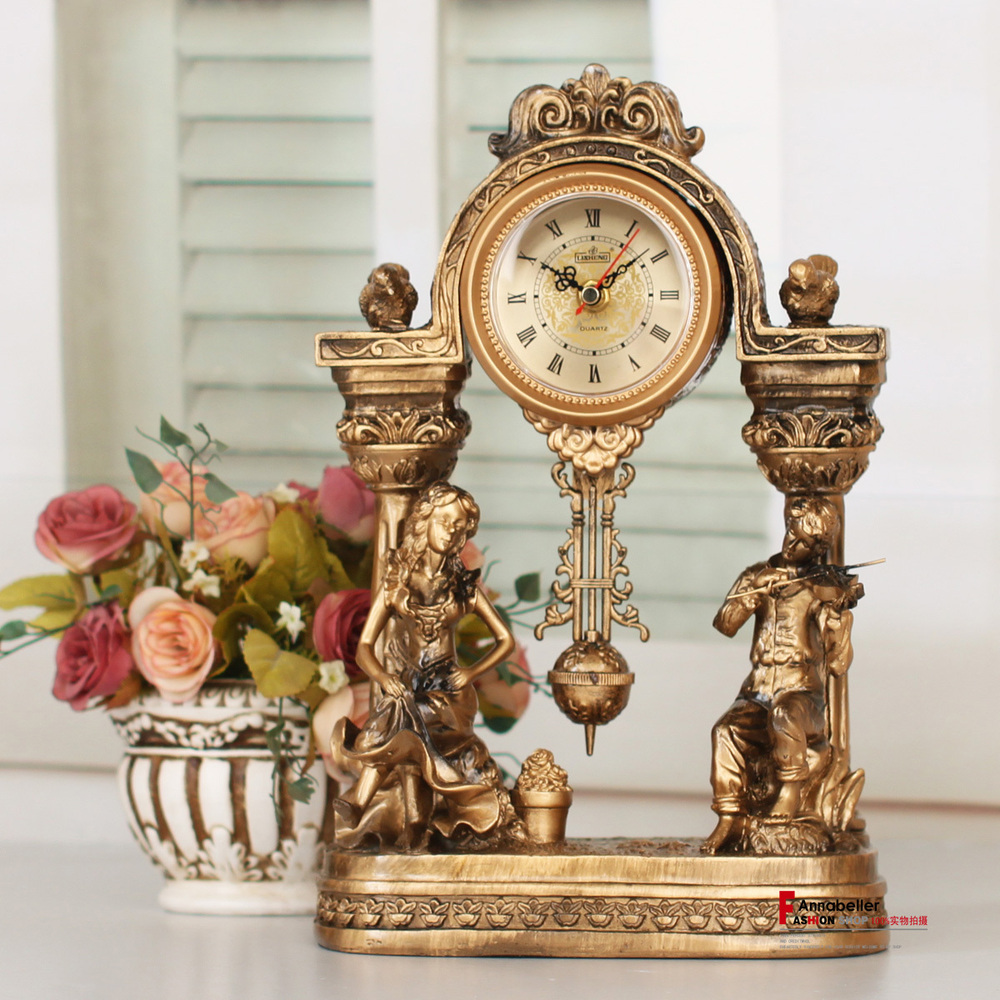 Lai Sheng Watches Retro Classic Antique Gold Clock Decorative Clock Ancient  European Golden Table Clock In Wall Clocks From Home U0026 Garden On  Aliexpress.com ...