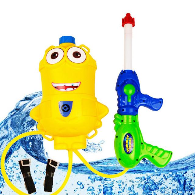 Mochila Niños Pistola de Agua Juguetes Millones Baymax Deportes Al Aire Libre Verano Playa De Plástico De Disparo Alto Rango de Presión Squirt TY0139
