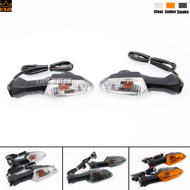 For KAWASAKI Z800 Z1000 Z1000SX Versys KLE650 Versys 1000 Motorcycle Accessories Front / Rear Turn Signal Indicator Light Clear