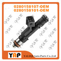 NEW Fuel Injector (4) FOR FIT UAZ 3160 Petrol Gas 2.9L DAEWOOCHEVROLET LACETTI 1.8L 0280158107 0280158101 4061132010 1994-2016