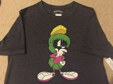 29d902bd MARVIN THE Martian alien LOONEY Tunes BUGS Bunny SPACE Jam MENS New T-Shirt