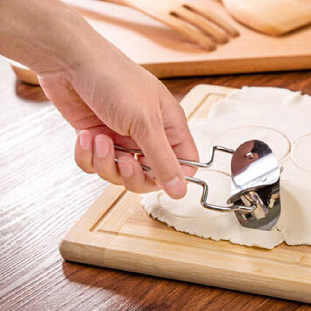2 шт./компл. Нержавеющаясталь пресс-форма для пельменей формочка для приготовления пельменей приспособление нарезки и упаковки пирог Равиоли форма для пельменей Кондитерские инструменты Кухня гаджеты
