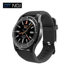 № 1 G8 Смарт часы Bluetooth 4,0 2 г сети sim-карты MTK вызова сообщение напоминание монитор сердечного ритма Smartwatches для iOS и Android